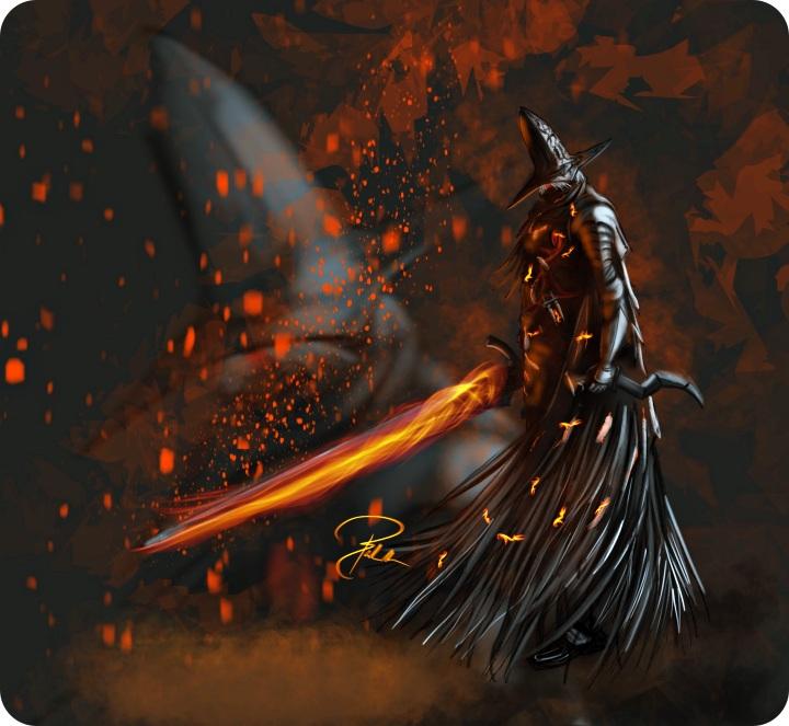 Abyss Watchers Artwork from Dark Souls 3