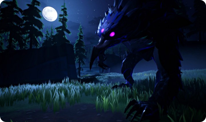 Shrowd Umbral behemoth in Dauntless