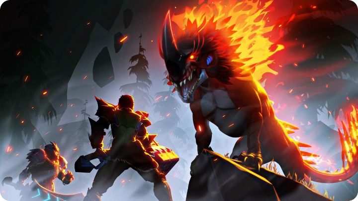 All Dauntless Behemoths: Embermane Blaze monster